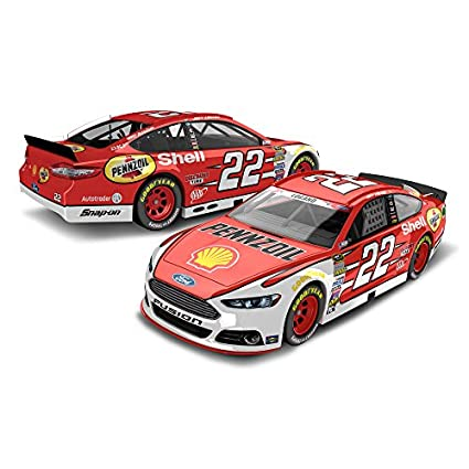 Lionel Racing Joey Logano #22 Shell-Pennzoil Red 2015 Ford Fusion NASCAR 1:64 Scale Diecast Car