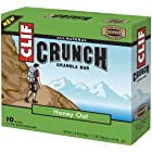 Clif Crunch Bar, Honey Oat, 10 Count Bar Boxes(Pack of 2) Reviews