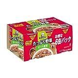 ビタワンクラックス たっぷり野菜ビーフ・野菜 6P