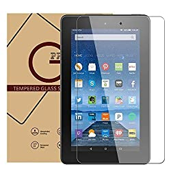 Gshine Fire 7 Tempered Glass Screen Protector for Kindle Fire 7 inch 2015 (5th Generation)