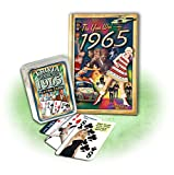 img - for 1965 Mini Book & Trivia Playing Cards Combo Gift book / textbook / text book