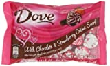 Dove Promises Silky Smooth Milk Chocolate and Strawberry Crème Swirl Hearts, 7.94 Ounce