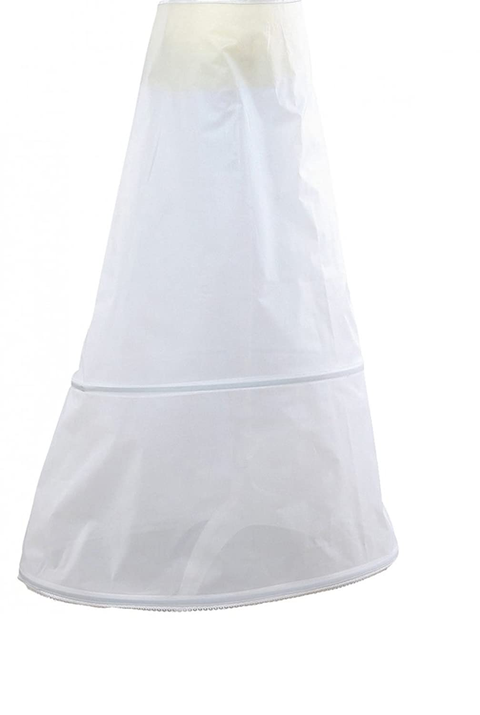 Petticoat einfache Frau der Braut zwei Reifen Farben bordeaux oder bla