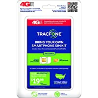 TracFone Bring Your Own Phone SIM Activation Kit - Retail Packaging