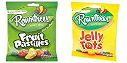 Rowntrees Fruit Pastilles 170g and Jelly Tots 160g