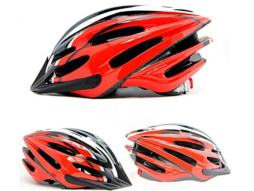 Wotefusi Car New Outdoor Sports MTB Mountain Road Cycle Cycling Bicycle Bike Safety Helmet With Removal Visor 24 Holes Vents Size M