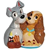 Lady and the Tramp Spaghetti Dinner Ceramic Cookie Jar