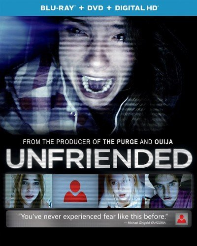Blu-ray : Unfriended (With DVD, Digitally Mastered in HD, Snap Case, Slim Pack, Digital Copy)