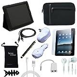 DigitalsOnDemand ® 12-Item Accessory Bundle for Apple iPad 4 With Retina Display 16GB, 32GB, 64GB Tablet