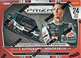 2016 NASCAR Panini Prizm Racing Series Unopened Blaster Box of Packs with One GUARANTEED Autographed or Memorabilia Card