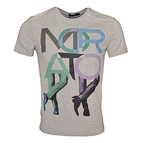 Antony Morato -  T-shirt - Basic - Classico  - Maniche corte  - Uomo grigio XXL