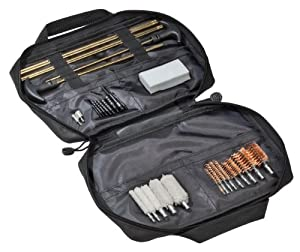 Outers Universal 32-Piece Soft Sided Gun Cleaning Kit
