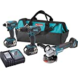 Makita XT324 18V LXT Lithium-Ion Cordless 3-Pc. Combo Kit