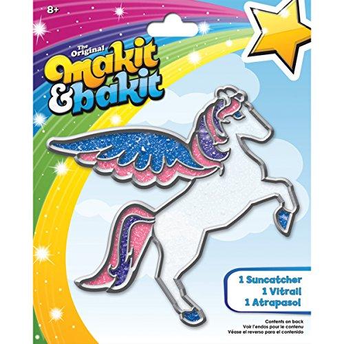 Colorbok Makit and Bakit Suncatcher Kit, Pegasus - 1