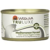 Weruva Mediterranean Harvest Tuna and Veggies Food for Pets, 3-Ounce, Gravy, Pack of 24