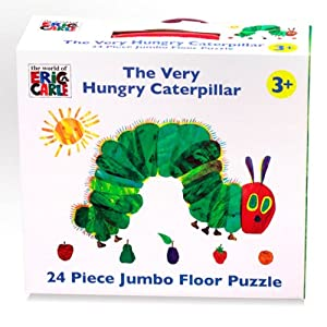 The Very Hungry Caterpillar 24 Stück-Riesiges Fußboden-Puzzlespiel