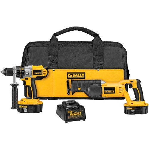 DEWALT DCK251X 18-Volt XRP Hammerdrill/Reciprocating Saw Combo Kit