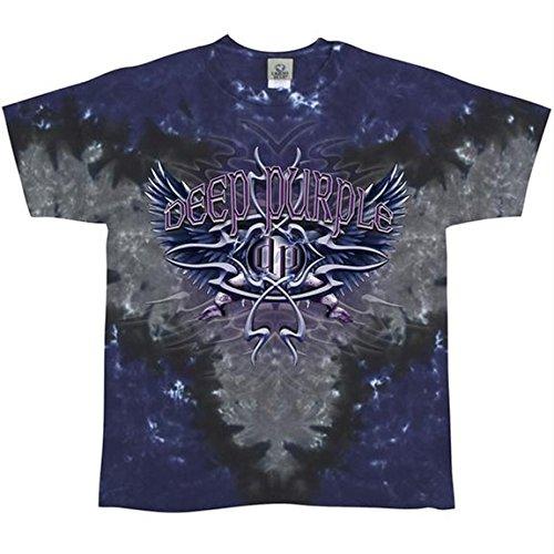 Deep Purple -  T-shirt - Uomo viola Large