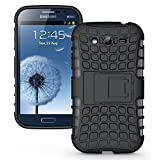 G-STAR Shockproof Armour With Kickstand Case For Samsung Galaxy S3 I9300 - Black