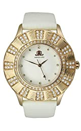 JLO Three-Hand Satin - White Women's watch #JL/2668IVRG