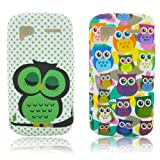 HTC Sensation XE TPU SILICON 2x SET CUTE OWL Design protection phone case bag shock Bumper thematys®