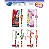 EASY READ DIGITAL SPORTS WATCH, DISNEY PRINCESS, CARS, MICKIE MOUSE OR MINNIE MOUSE