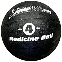 Buy 4 Lb Crossfit Slam Ball Low Bounce Plyometric Medicine Ball by Jump USA