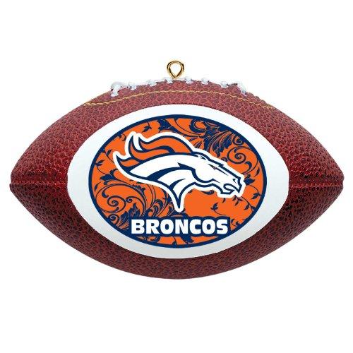 NFL Denver Broncos Mini Replica Football Ornament