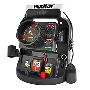 Vexilar UP1812D FL-18 Ultra Pack 12-Degree Ice-Ducer Combo with DD-100 by Vexilar