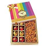 Chocholik - Chocholik's Luxury Chocolates With Amazing Almond Gift Wrapped Box - Diwali Gifts
