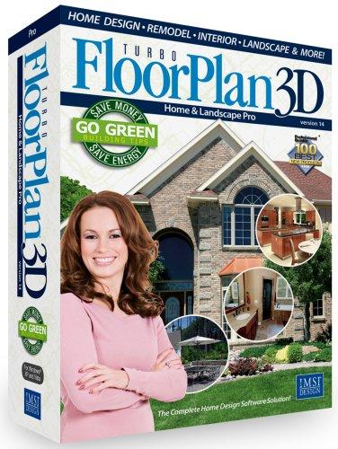 Floorplan 3D Home & Landscape Pro V14