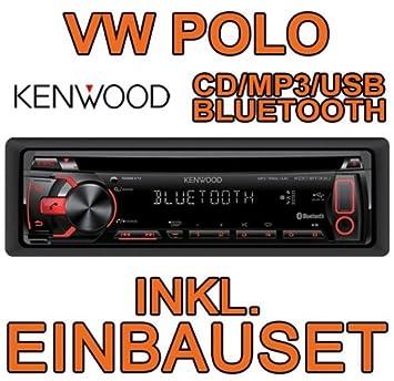 Volkswagen polo 9N3 kenwood kDC-bT33U avec