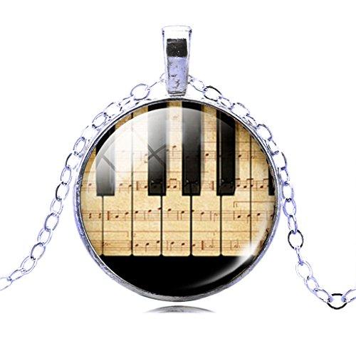 Jiayiqi-Schmuck-Frauen-Mode-Klaviertastatur-Bild-Anhnger-Zeit-Edelstein-Erklrung-Halskette-Weihnachtsgeschenk