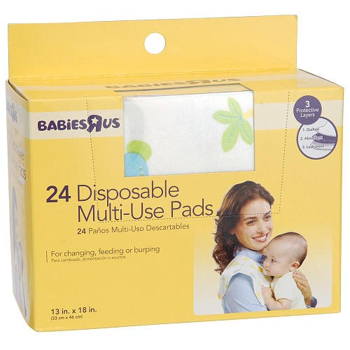 24 Disposable Multi-use Pads - 1
