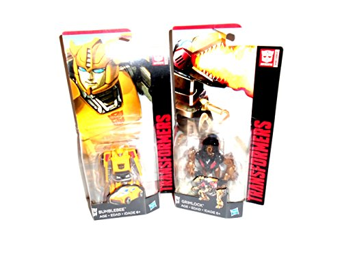 Transformers Legends Class Bumblebee Action Figure Classics Exclusive & Grimlock GIFT BUNDLE!!