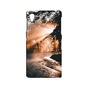 BLUEDIO Designer 3D Printed Back case cover for Sony Xperia Z1 - G7474