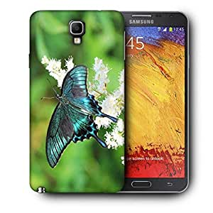 Snoogg Multicolor Butterfly Printed Protective Phone Back Case Cover For Samsung Galaxy NOTE 3 NEO / Note III