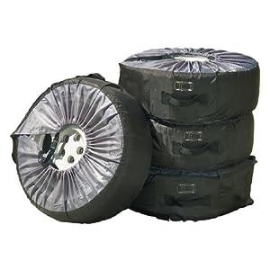 """Cartrend Reifentaschen-Set 4-teilig, bis 17"""" und 225 mm Reifenbreite"""
