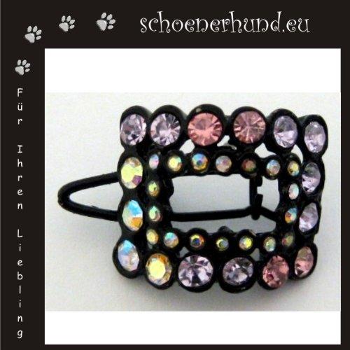 Artikelbild: Haarschmuck für Hunde mit funkelnden Strass - Exklusive Haarspange von Dogs Stars - Haarclipp multicolor