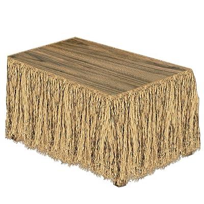 Beistle Raffia Table Skirt