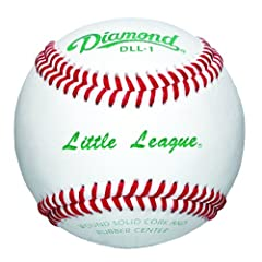 Buy Diamond Baseball Little League 1 Dozen by Diamond Sports
