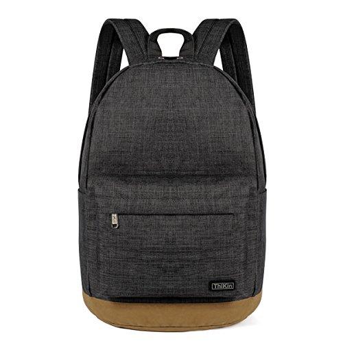 thikin-preppy-school-backpack-laptop-rucksack-simple-casual-daypacks-book-bag-travel-sports-pack-bag