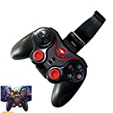 CFStore@ Wireless Bluetooth Game Controller Rechargeable Gamepad Support for Smart Phone,PC,TV,TV Box with Android Platform 3.2 or Above (GAME-Btooth-BK)