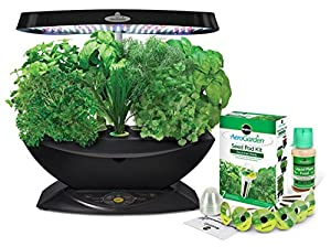 Miracle-Gro AeroGarden 7-Pod LED Indoor Garden with Gourmet Herb Seed Kit