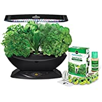 AeroGrow 2701-00B Miracle-Gro AeroGarden 7-Pod LED Indoor Garden with Gourmet Herb Seed Kit