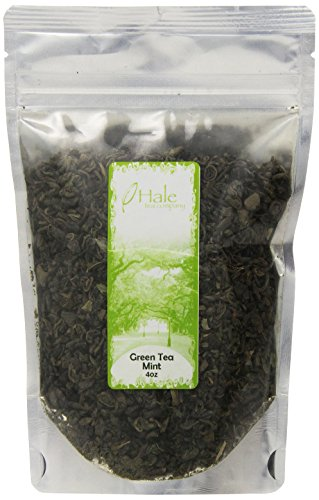 Hale Tea Green Tea, Mint, 4-Ounce