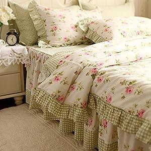 swanlake shabby elegant ruffles cotton bdlwebzi