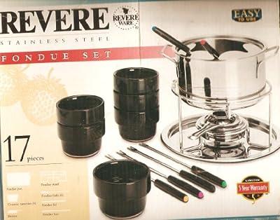 Revere 17 piece Fondue Set