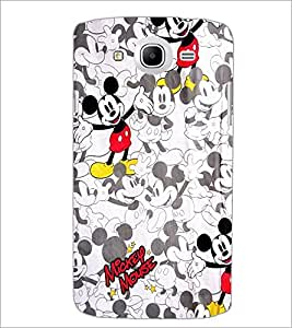 PrintDhaba Mickey Mouse D-2143 Back Case Cover for SAMSUNG GALAXY MEGA 5.8 (Multi-Coloured)