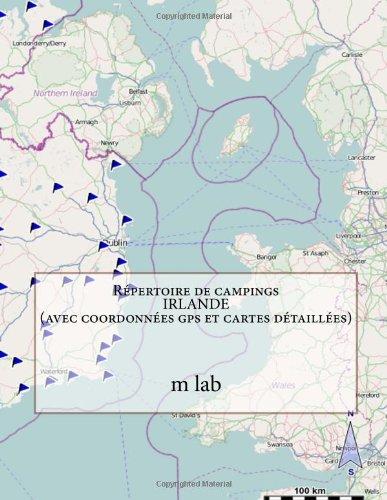 Répertoire de campings IRLANDE  (avec coordonnées gps et cartes détaillées)